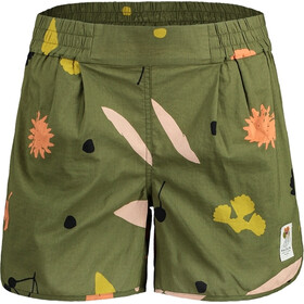 Maloja UrschaiaM. Shorts Women, moss flower